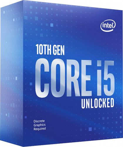 Процессор Intel Original Core i5 10600KF Soc-1200 (BX8070110600KF S RH6S) (4.1GHz) Box w/o cooler фото 2